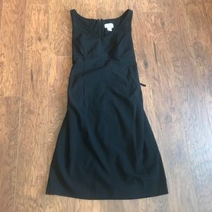 Motherhood Maternity Large Black Sleeveless Dress